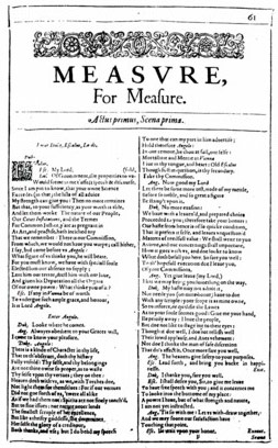 Q6 In which play by Shakespeare do Elbow and Mistress Overdone appear? Measure for Measure