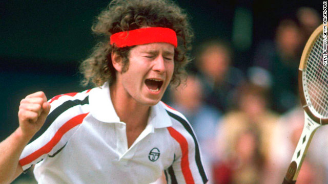 21 What was tennis player John McEnroe's nickname? Superbrat