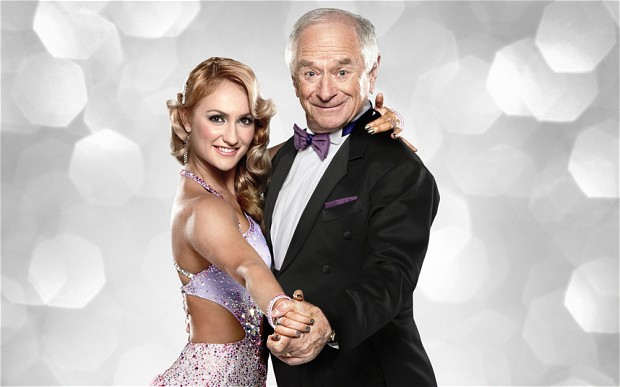 During the 2012 season of Strictly Come Dancing, professional dancer Aliona Vilani broke her ankle who was her celebrity partner? Johnny Ball