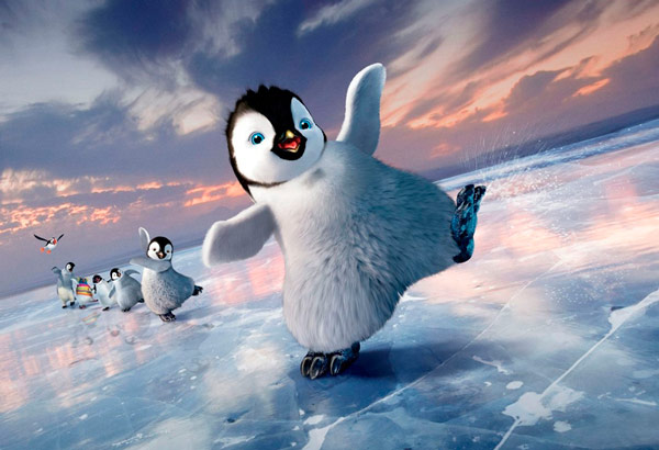 Q39 The 2007 Best Animated Feature Film of the Year Oscar was awarded to which film? Happy Feet