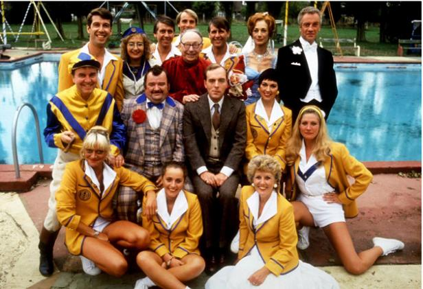 Q32 In which 80s BBC comedy series did the Yellow Coats feature? Hi-de-Hi