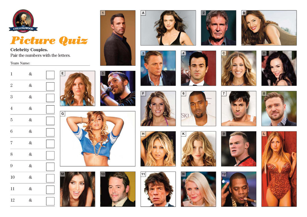 celebrity dating quizzes Play celebrity quizzes on sporcle, the world's largest quiz community there's a celebrity quiz for everyone  celebrity trivia quizzes and games random celebrity quiz also check out.