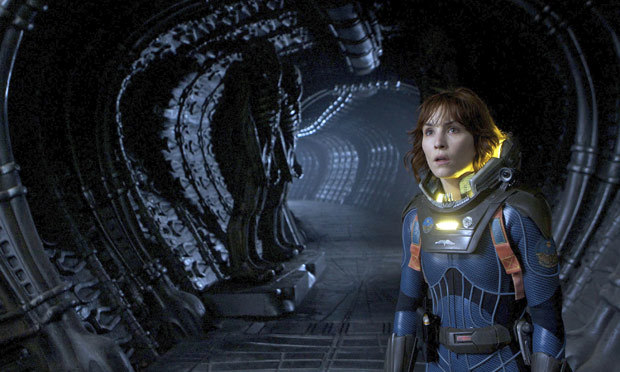 Q40 In the 2012 film Prometheus what is the name of the only human who survives the expedition, played by Noomi Rapace? Elizabeth Shaw