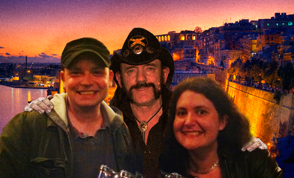She & Him with Lemmy in Malta!