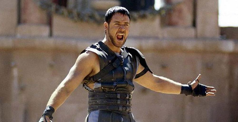 Q39 What was the full name of Russell Crowe's character in the 2000 epic Gladiator? Maximus Decimus Meridius