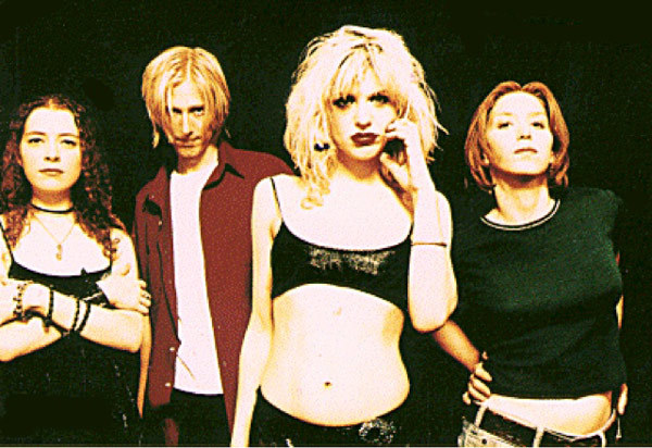 Q20 Celebrity Skin was the 1998 third studio album by which controversial American all female band? Hole