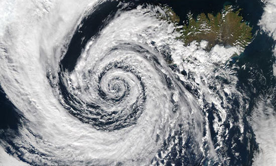Q10 What name is given to the effect that causes winds to blow anticlockwise around low pressure and clockwise around high pressure in the northern hemisphere and visa versa in the southern hemisphere? The Coriolis effect