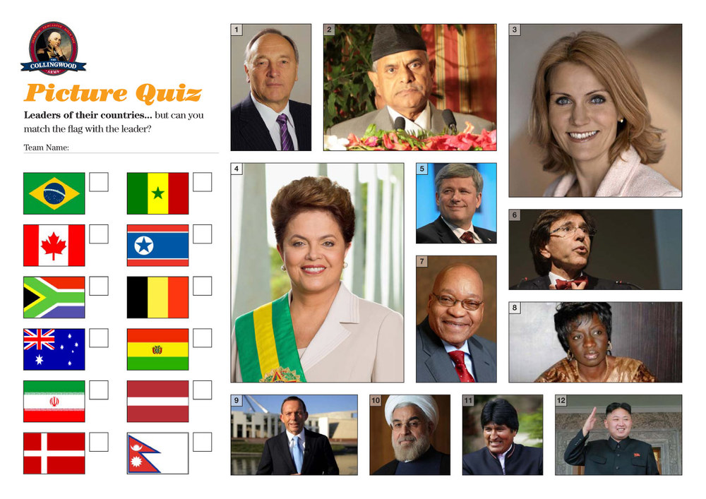 "The clue on the Preview this week was ""Vexillology gives clues to world leaders""."