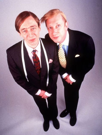 "Q36 ""Suits you, Sir"" was a phrase associated with which 90's comedy show? The Fast Show"