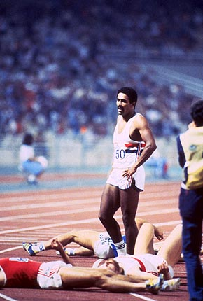 Q23 Which British athlete won two Olympic Golds and three Commonwealth Golds for the decathlon between 1978 and 1986? Daley Thompson