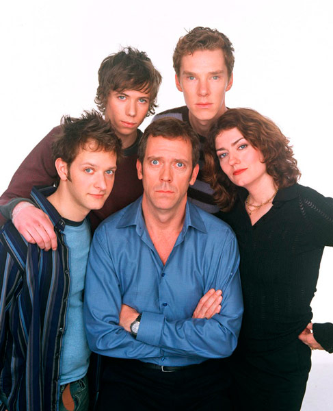 Q33 Which 2003 comedy series starred Hugh Laurie as Paul Slippery, a doctor facing a mid-life crisis? Fortysomething