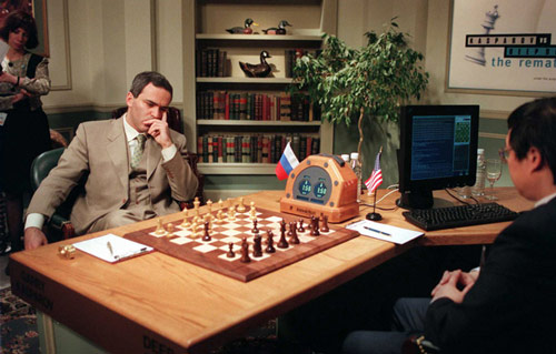 Q7 What was the name of the IBM computer that beat reigning World Chess Champion Gary Kasparov in a six-game series in New York in 1997? Deep Blue