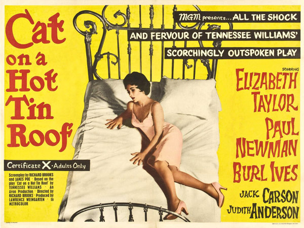 Q9 Who wrote the stage play Cat on a Hot Tin Roof? Tennessee Williams