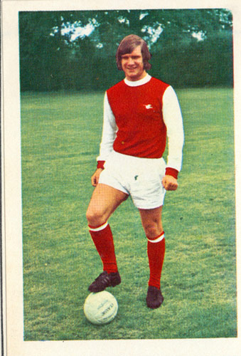 Q30 In 1971 FA Cup Final between Liverpool and Arsenal, the Gunners substitute Eddie Kelly equalised in the first half of extra time. Arsenal went on to win the cup 2-1 when Charle George scored in the second half of extra time... but what was the significance of the Eddie Kelly goal? It was the first time a substitute had ever scored in an FA Cup final. Although the commentators on the footage say it was George Graham it was Kelly who was awarded the goal following replays.