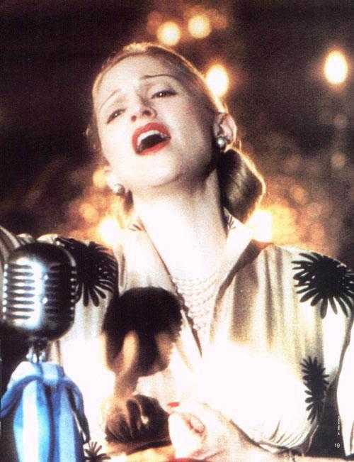 Q31 Which singer played the title role in the 1996 movie Evita? And for a bonus point who directed the movie? Madonna, Directed by Alan Parker