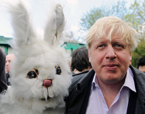 Q38 How many times has Boris Johnson appeared on Have I Got News For You... 3, 5, 7 or 9?