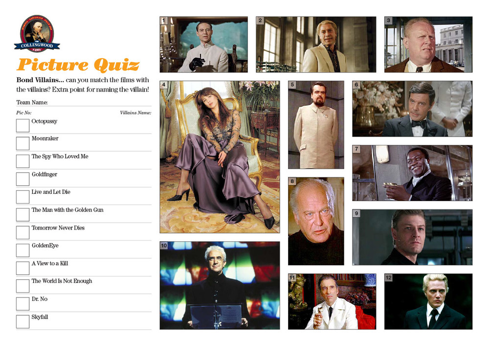 "The clue in the Quiz  Preview  this week was   ""Who's the villain Doctor? No secret agent can save my precious digit!"""
