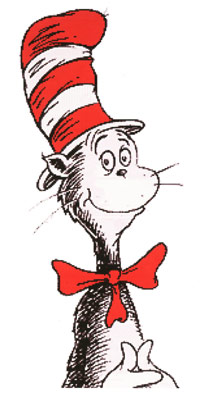 Q2 Who wrote the book The Cat in the Hat? Dr Seuss