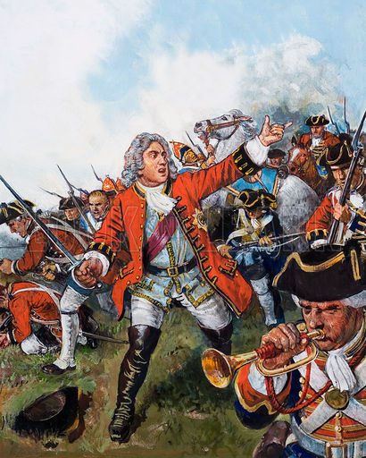 Q10 Who was the last British king to appear in battle? And for a bonus what century was it? In the 18th Century (1743), George II at the age 60 led his men in battle and defeated the French at the Battle of Dettingen
