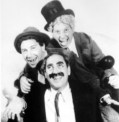 Q34 Which family of comic actors starred in the films Monkey Business, Horse Feathers and Duck Soup? The Marx Brothers