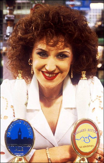 Q33 Anyone Can Fall In Love was an 1986 chart hit set to the theme tune of which TV show? And for a bonus point, who sang it (real name not character name)? EastEnders, Anita Dobson (Angie Watts)