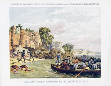 Q2 Where was the first convict settlement established in Australia? Botany Bay