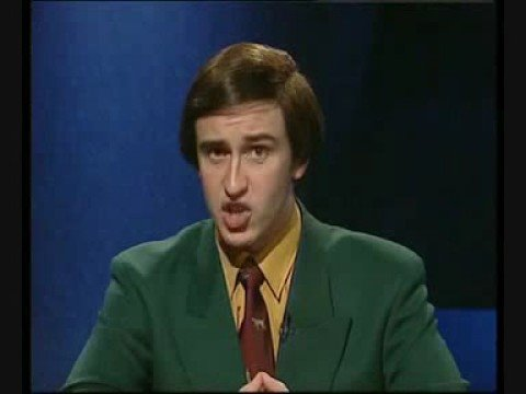 Q25 Who's countdown to the 1994 World Cup was this? Alan Partridge (Steve Coogan)