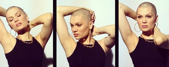 Q14 Who shaved all her hair off for 2013's Comic Relief? Jessie J
