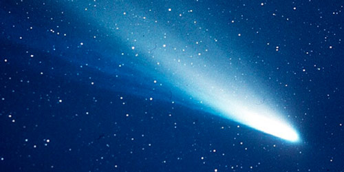 Q5 On planet earth how often does Halley's Comet appear in the night sky? Every 75-76 years