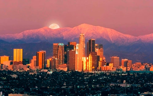 Q2 What is the second most populated city in the USA after New York? Los Angeles