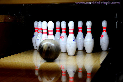 Q24 If a player makes a Big ears in bowling how many pins are left standing? Four, it leaves a 4-6-7-10 split, (two pins in each corner)