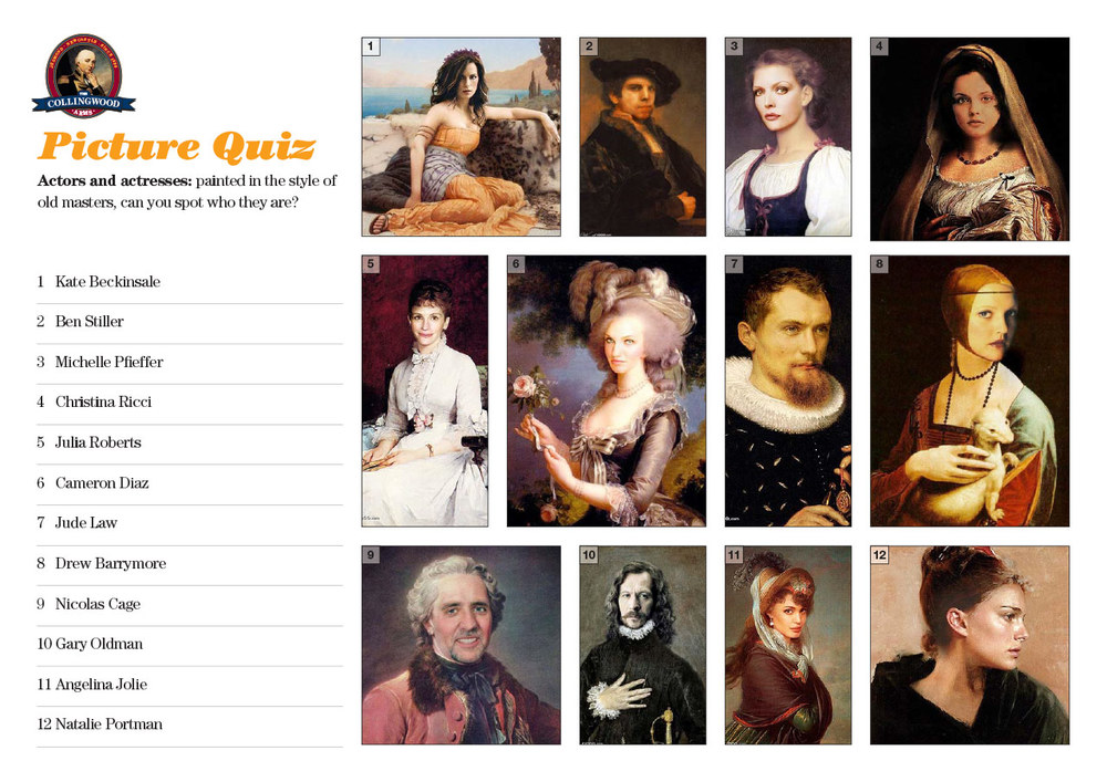 Our teams did pretty well with the Old Masters.