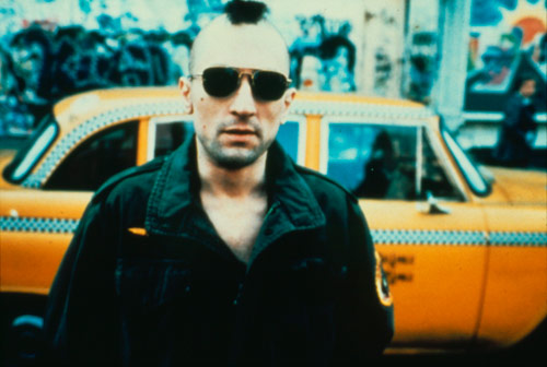 Q33 On every street in every city, there's a nobody who dreams of being a somebody was the tagline to which 1976 Robert De Niro Classic? Taxi Driver