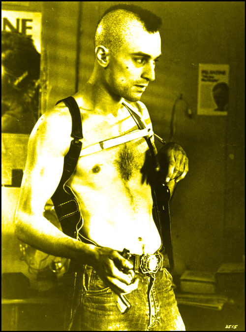 Q36 Travis Bickle is the anti-hero in which 1976 movie? And for a bonus name the actor who played Travis? Taxi Driver, played by Robert de Niro