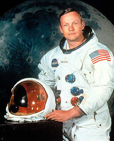 Q1 Who was the first man to set foot on the moon? Neil Armstrong