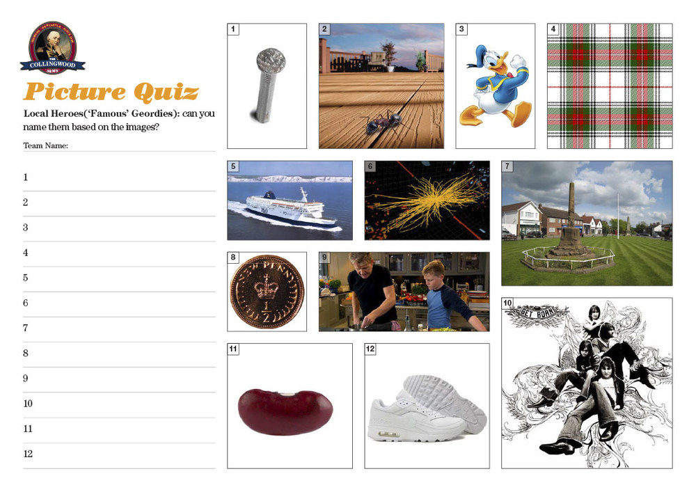 This weeks Picture Round had a  sound clip as the clue ...