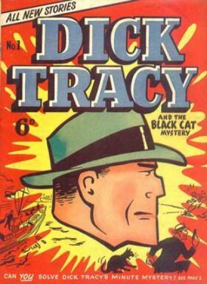 Q5 Which American comic strip detective did Chester Gould create in the 1930s? And for a bonus point what was the exact year the comic launched? Dick Tracy, 1931