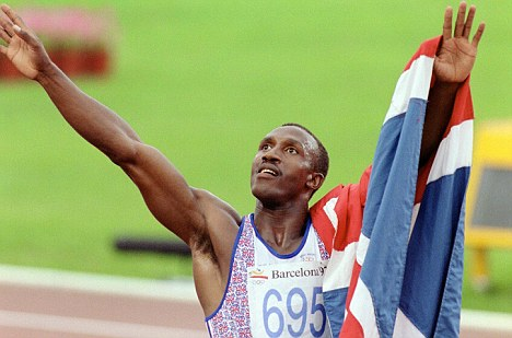 28 Who at 32 years old became the oldest 100 metre Gold Medal Winner at Barcelona in 1992? Linford Christie