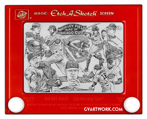 Q3 Which mechanical drawing toy first appeared under Christmas Trees in 1960? Etch A Sketch