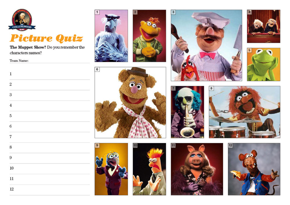 "The clue in  this weeks Preview  was   ""It's time to play the music, it's time to light the lights..."" s   o it could only be The Muppets!"