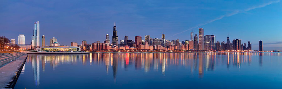 Q5 Chicago is on the shores of which North American Great Lake? Lake Michigan