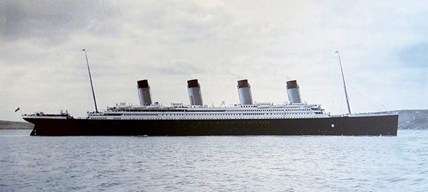 Q4 The RMS Titanic was built in which UK city's shipyard? And for a bonus point name the   company that built the liner? Belfast, built by Harland and Wolff