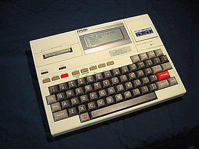 Q8. Launched in 1981 the Epson HX-20 (with a a built-in 120 × 32-pixel LCD screen) is generally regarded by most experts as the first what? Laptop computer