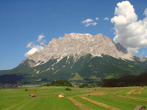 Q6 Zugspitze is the highest mountain in which (European) country? Germany