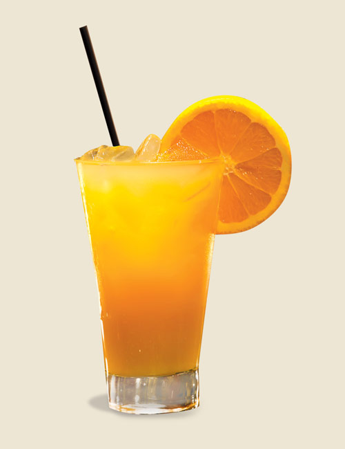 Q1 What two ingredients are required to make a screwdriver cocktail? Vodka and orange juice
