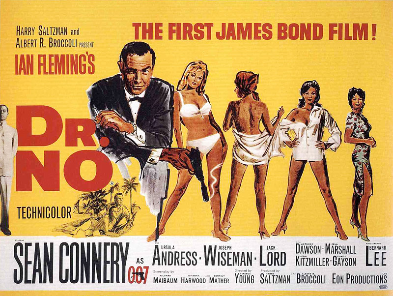Q33 Released in 1962, what was the title of the first James Bond film? And for a bonus point who played the first James Bond? Dr No. Sean Connery played Bond