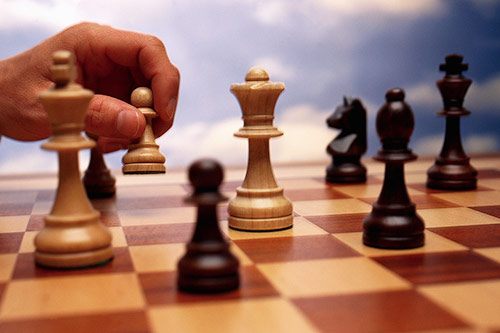Q7 Zwischenzug is a tactic you might employ in what (board) game? Chess