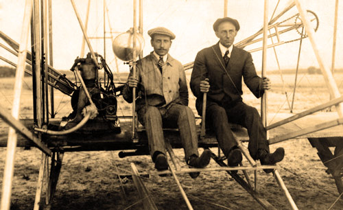 Q6 What were the first names of the inventors and pioneers of aviation the Wright brothers? Orville and Wilbur