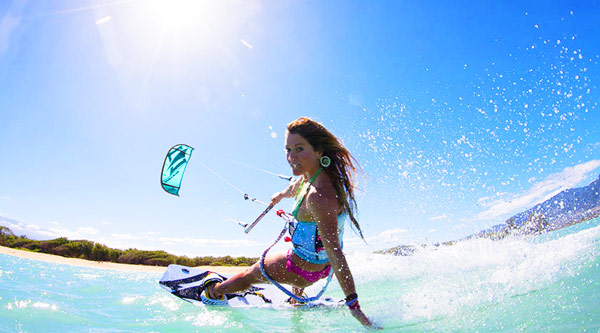 Q29 There will be three new sports at the 2016 Summer Olympics in Rio. Two sports, Rugby and Golf, have been in the Olympics before but what sport will be making it's debut? (Clue: It replaces Windsurfing) Kitesurfing