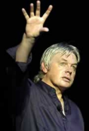 Q6 Which former Hereford United goalkeeper who predicted the world would end in 1997, attracted a sell-out crowd to Wembley Arena in 2014 to hear him rant about the nature of reality for 10 hours? And for a bonus point what TV show did he once present? David Icke former presenter of Grandstand